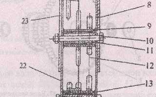 Разборка редуктора мотоблока каскад