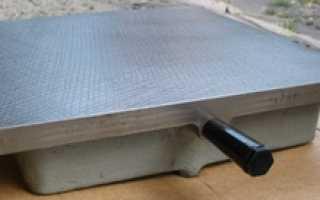 Для чего используют проверочные плиты