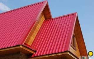 Устройство крыши из металлопрофиля