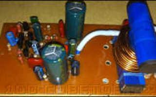 Самодельный усилитель для сабвуфера 12 вольт