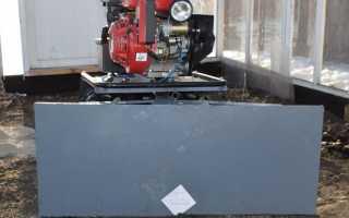Самодельная лопата для мотоблока