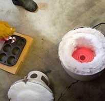 Как сделать печь для плавки алюминия
