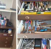 Шкафчик для инструментов своими руками