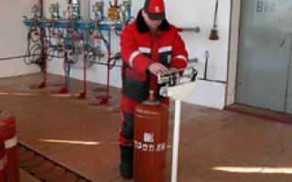 Как заправить газовый баллон на агзс
