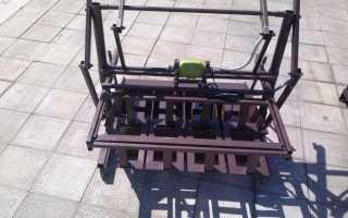Чертеж станка для изготовления шлакоблоков бесплатно