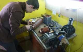 Как перемотать статор электродвигателя