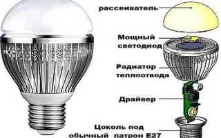 Можно ли восстановить светодиодную лампу
