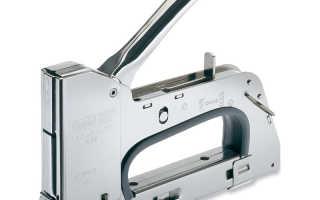 Как работает строительный степлер