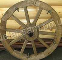 Как самому сделать колесо для телеги