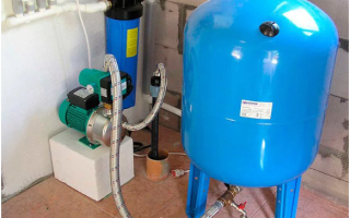 Назначение гидроаккумулятора в системе водоснабжения
