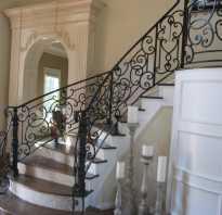 Виды перил для лестниц