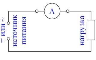 Как подключить стрелочный амперметр