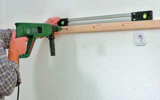 Как пробурить бетонную стену