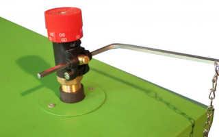 Как установить регулятор тяги для твердотопливных котлов
