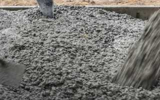 Пропорции бетона м200 в ведрах