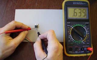 Как проверить мосфет мультиметром не выпаивая