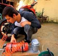 Как сделать ресивер из огнетушителя