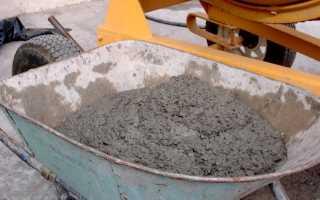 Пропорции бетона м300 в ведрах
