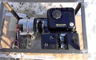 Бензиновый генератор своими руками 220в