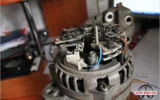 Как проверить щетки генератора ваз 2110 мультиметром