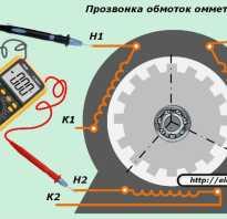Схема пуска трехфазного двигателя в однофазной сети
