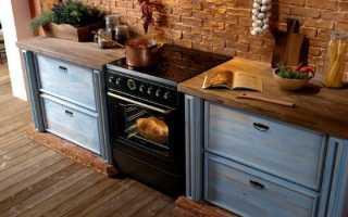 Мощность электроплиты с духовкой для кухни