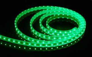 Светодиодная лента без подключения к электросети