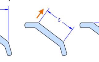 Типы размеров на чертежах