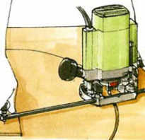 Приспособление для фрезерования эллипсов окружностей