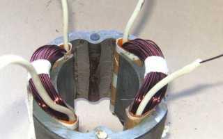 Как проверить статор перфоратора мультиметром
