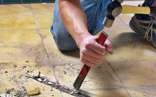 Как отрезать плитку на стене
