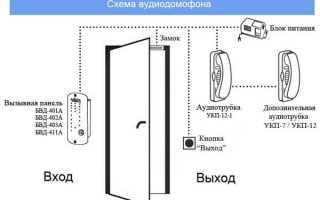 Как подсоединить провода к трубке домофона