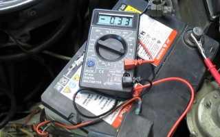 Как проверить стартер на утечку тока
