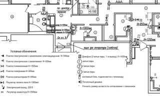 Обозначение проходного выключателя на схеме