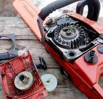 Как заменить шнур стартера бензопилы штиль 180