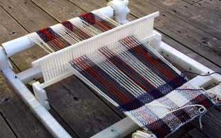 Настольный горизонтальный ткацкий станок чертеж