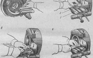 Как заточить резец на токарный станок видео