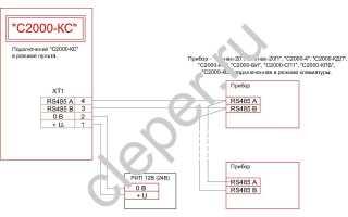 Бриз блок разветвительно изолирующий схема подключения