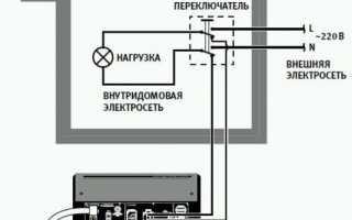 Бензиновый генератор схема подключения