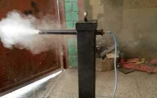 Самодельный дымогенератор для коптильни холодного копчения видео