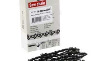 Что означает маркировка пильных цепей