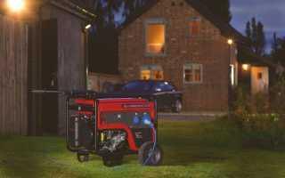 Выбор генератора для загородного дома