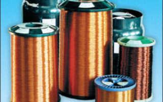 Классификация монтажных и обмоточных проводов