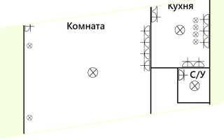 Проводка в хрущевке схема 3 комнатной квартиры