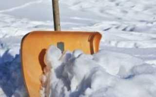 Снеговая лопата своими руками из фанеры
