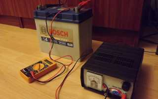 Как определить зарядку аккумулятора по зарядному устройству