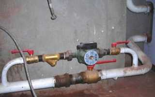 Схема монтажа насоса отопления