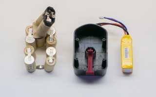 Восстановление аккумулятора шуруповерта своими руками видео