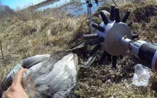 Насадка для ощипывания домашней птицы своими руками