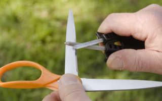 Как поточить маникюрные ножницы в домашних условиях